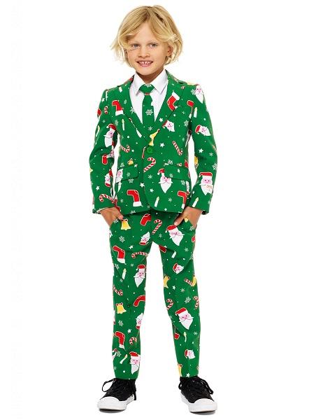 Opposuits Anzug Kinder Jungen Weihnachten