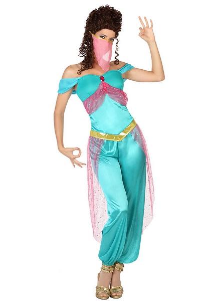 Orientalisches 1001 Nacht Kostüm Damen Frauen Erwachsene