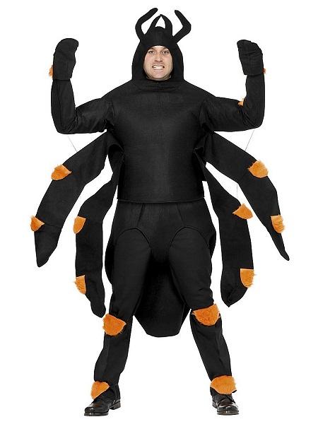 Spinnenkostüm Herren Männer Erwachsene
