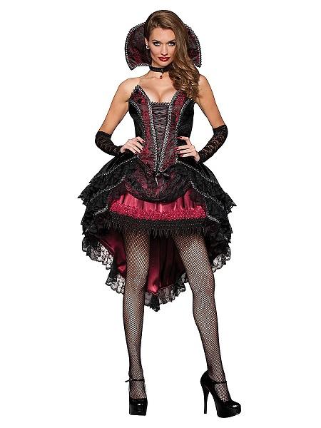 Vampir Kostüm Damen Frauen Erwachsene