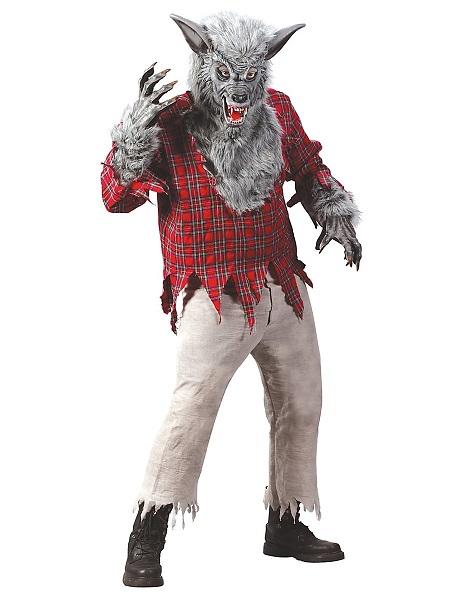 Werwolf Kostüm Herren Männer Erwachsene