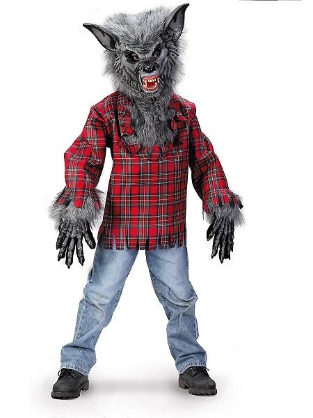 Werwolf Kostüm Kinder Jungen Mädchen
