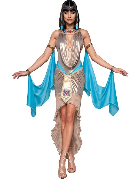 Ägypterin Kostüm Damen Frauen Erwachsene