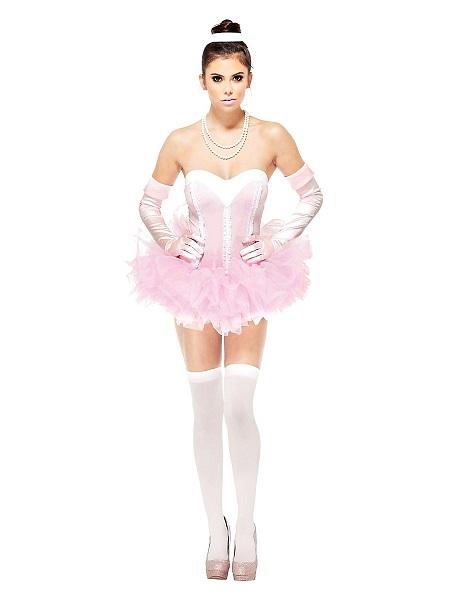 Ballerina Kostüm Kleid Damen Frauen Erwachsene