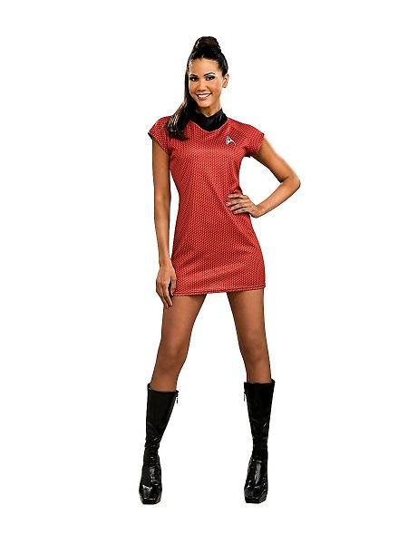 Cosplay Kostüm Damen Frauen Erwachsene Uhura Star Trek
