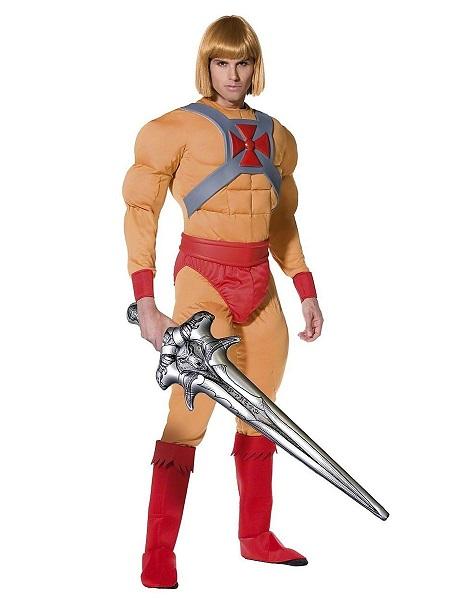 He-Man Kostüm Herren Männer Erwachsene