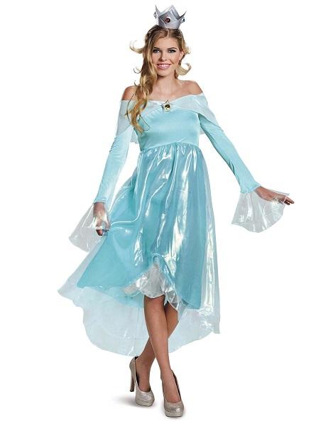 Mario Kart Kostüm Damen Frauen Erwachsene Rosalina
