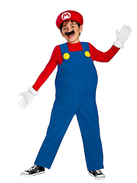 Mario Kart Kostüm Kinder Jungen