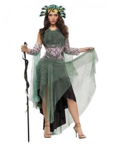 Medusa Kostüm Damen Frauen Erwachsene