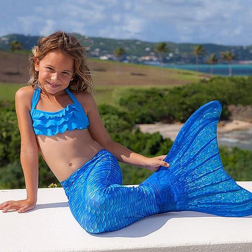Meerjungfrauenflosse zum Schwimmen kaufen Kinder Mädchen günstig