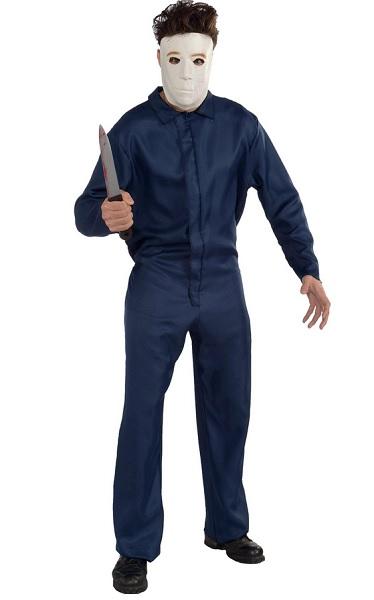 Michael Myers Kostüm Herren Erwachsene blau