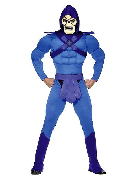 Skeletor Kostüm Herren Männer Erwachsene He-Man Masters of the Universe