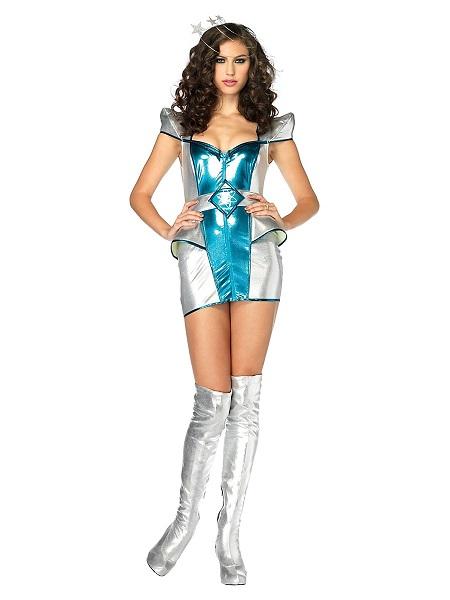 Space Girl Kostüm Damen Frauen Erwachsene
